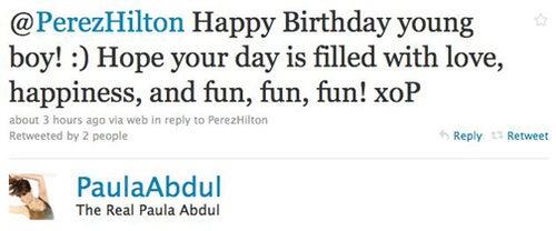 Celebs Tweet About Health Care & Perez Hilton's Birthday