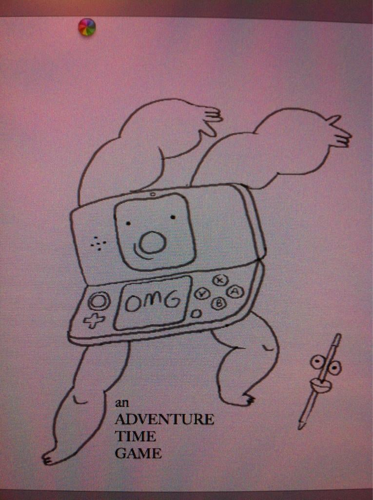 They're Making an Adventure Time Game for Nintendo 3DS? Hooray!