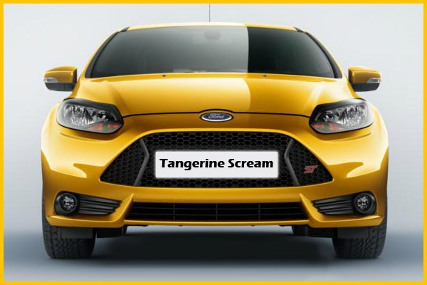 What Color Would You Choose: Ford Focus ST