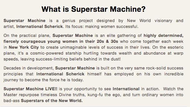 superstar machine cult