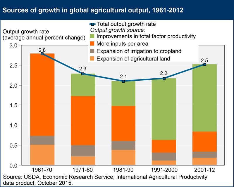 This Is How the World Is Growing More Food With Less Land
