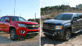 Living On And Off Road With The 2015 Chevy Colorado And GMC Canyon