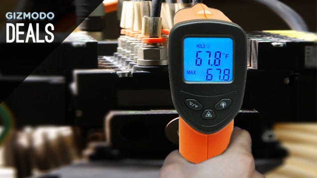Fun and Practical IR Thermometer, Cleaner Teeth, and More Deals