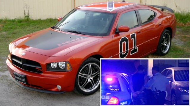 Man Who Fled Police In 'General Lee' Charger Caught In Shower