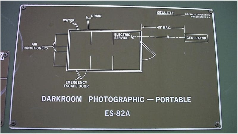 For sale slightly used military dark room classified for X ray room floor plan