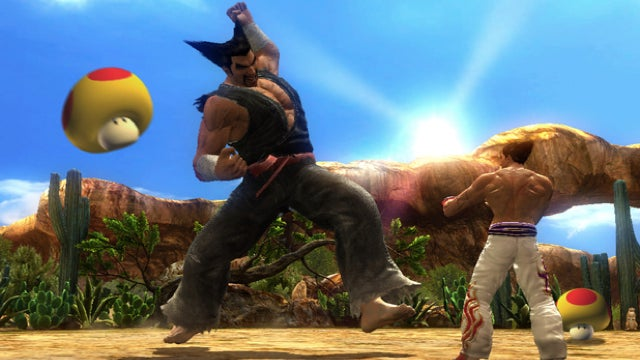 Tekken's Mushroom Battle Mode Gives Tekken a 1-Up
