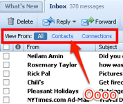 Yahoo Mail Filters Your Inbox by Contacts and Connections
