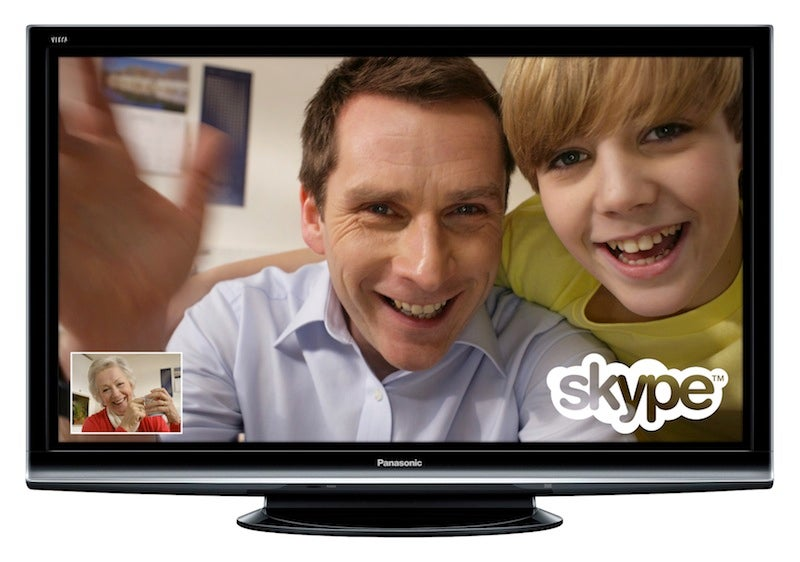 Skype Goes 720p, Jumps Onto LG and Panasonic HDTVs