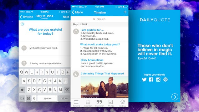 Five Minute Journal for iPhone Improves Your Mood in Moments a Day