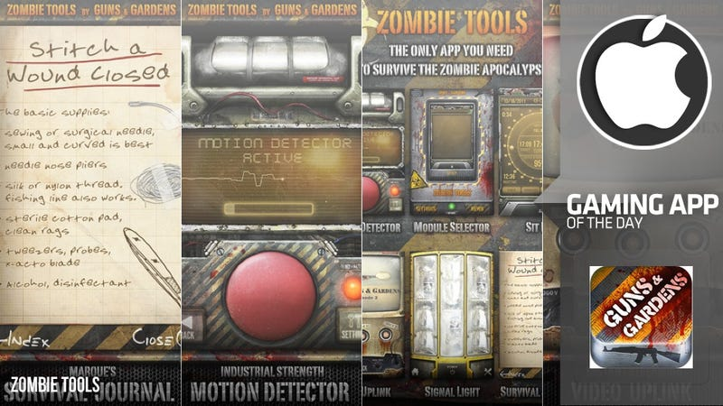 Every Day is a Struggle to Survive with Zombie Tools