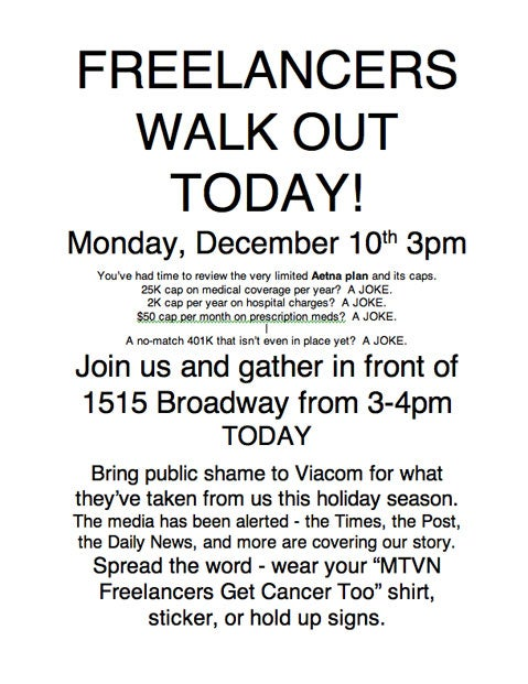 The Viacom Walkout: It Is On