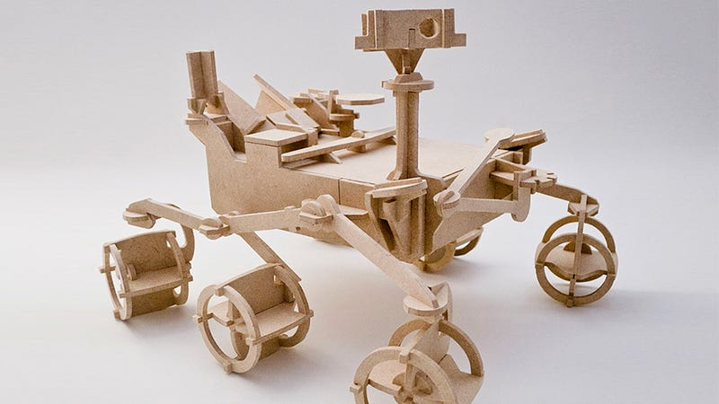 Explore the Dark Side of Your Desk With This Wooden Curiosity Model