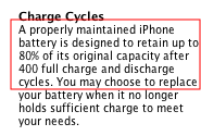 Actually, the iPhone Battery Will Last Longer Than 400 Charges