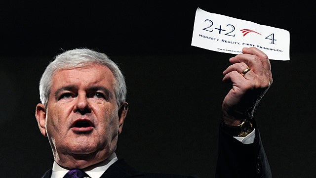 Most of Newt Gingrich's Twitter Followers Are Fake