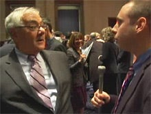 Barney Frank Makes a Fool Out of Conservative Reporter Over 'Don't Ask, Don't Tell'