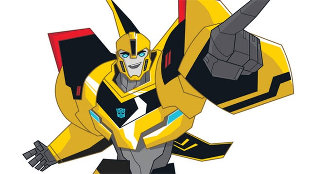 Bumblebee Transformers Animated Bumblebee Takes...