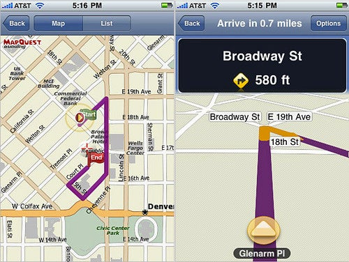 MapQuest Stumbles Back Into the App Store With Budget Turn-by-Turn