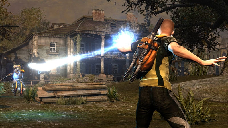 Eyes-on With Infamous 2's New Cole, New Tricks