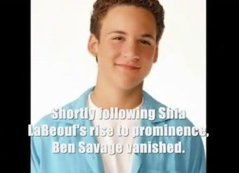 Surprisingly Convincing Video Suggests Shia LaBeouf Is More Than He Seems