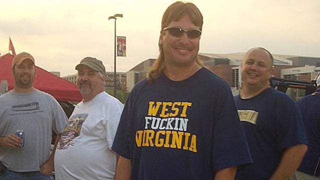 In West Virginia, Even The Old Ladies Spit On Opposing Football Players