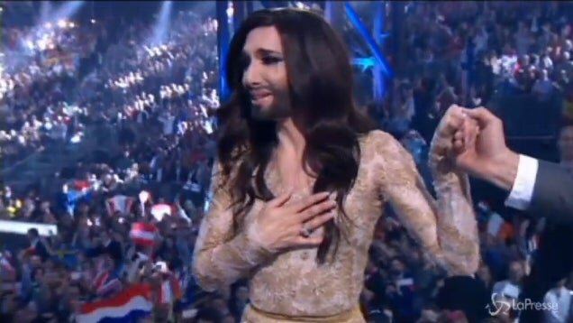 The Winner Of The 2014 Eurovision Song Contest.