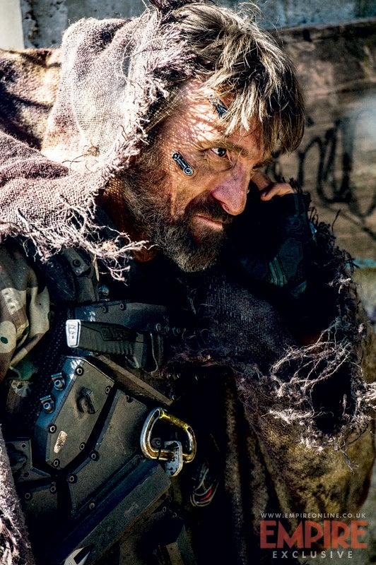 First look at Sharlto Copley's mecha-man face in Neill Blomkamp's Elysium