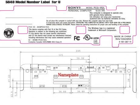 New Vaio P Model Sneaks Through the FCC