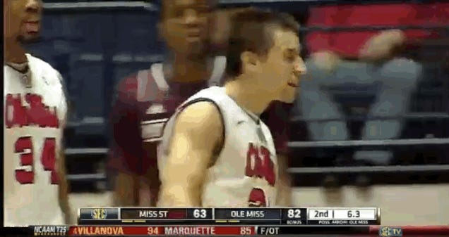 Mississippi State Coach Is Not Happy With Marshall Henderson
