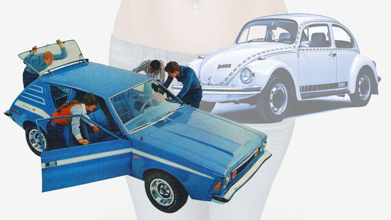 A Pantload Of Jeans-Themed Cars On The Anniversary Of Levi's Patent