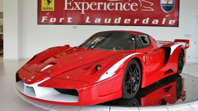 Ferrari FXX Evolution with only 7 miles for sale on Ebay
