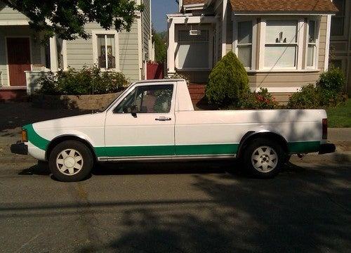 1982 Volkswagen Rabbit Pickup Down On The Alameda Street