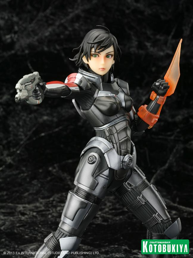 "There's a Second ""Surprisingly Unsexy"" Commander Shepard Statue Coming"
