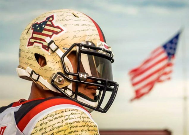 New UMD Uniform Will Renew Your Faith in Football, America, Explosions
