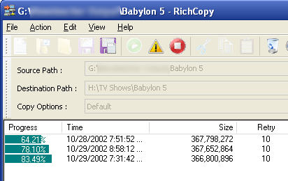 RichCopy Enhances Windows File Copying with Advanced Rules