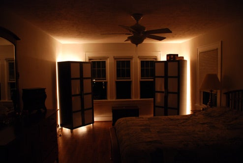 Set Up Cheap Ambient Lighting with Rope Lights