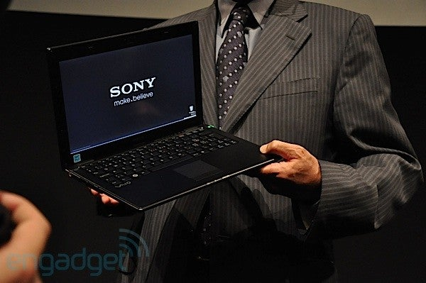 Sony X-Series Carbon Fiber Ultraportable: Half Inch Thin, 1.5 Pounds