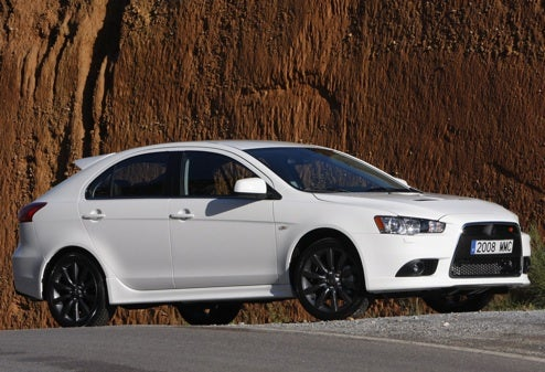 2009 Mitsubishi Lancer Sportback, Ralliart Break Cover Early On Way To Paris
