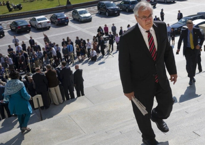 Barney Frank Leaves Congress, Won't 'Pretend Everything is Wonderful'