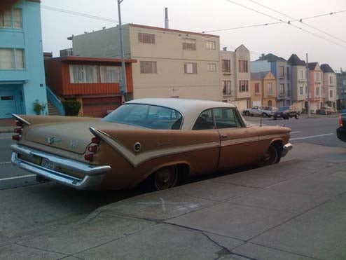 1950s Detroit Iron Prevents Camrys From Gaining A Foothold In San Francisco's Western Addition