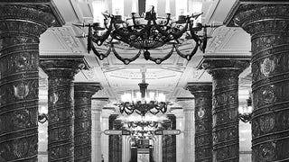 Russian Underground Stations Look Even More Stunning In Black and White