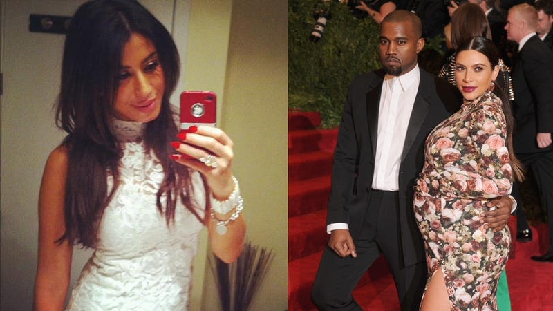 Canadian Model Claims Kanye West Cheated on a Pregnant Kim K with Her