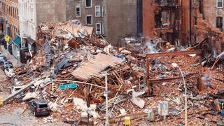 Two Missing in Still-Burning Rubble of East Village Building Explosion