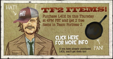 Get A Hat And Frying Pan Free With Your Game Purchase