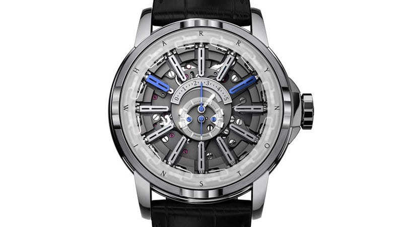 This Mechanical Masterpiece Of a Watch Tells Time Without Hands