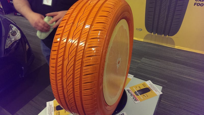 Orange oil tires?