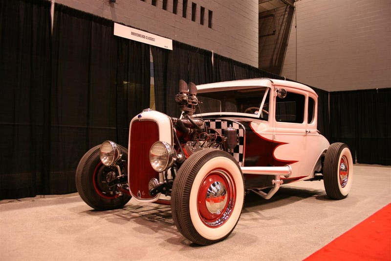 1930's Era Supercharged Ford Madness