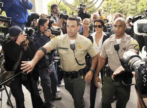 Judge Orders Lindsay Lohan to Not Drink Booze, Wear Ugly Bracelet
