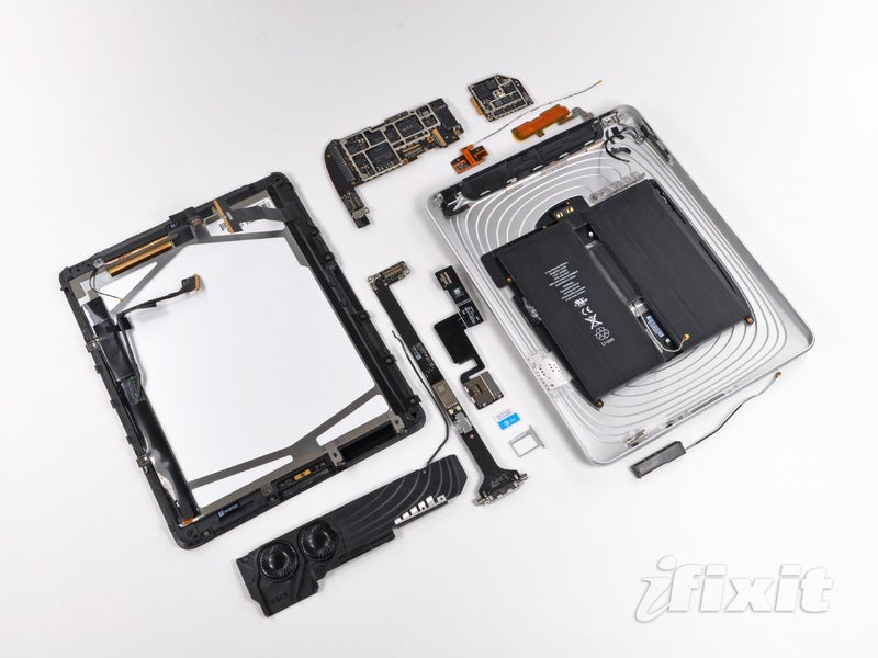 iPad 3G Dismantled: There Are Five Antennas