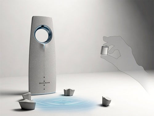 Sound Scrape Concept Projects Images To Match The Music Being Played