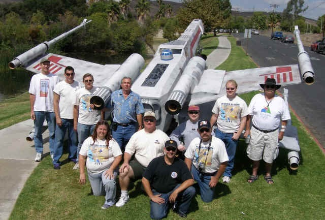 Rocket-Powered 21-Foot-Long X-Wing Model Actually Flies (Updated: Built-in R2-D2)